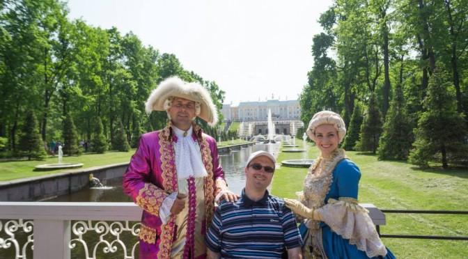 Zwei Tage in St. Petersburg (mit Peterhof)