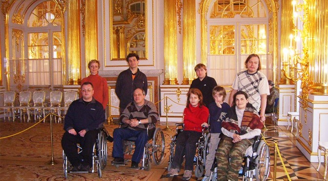 Two days in St. Petersburg  for wheelchair travelers <br/>(with Tsarskoe Selo & Amber Room)